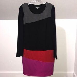 DKNY Long Sleeve Dress Sz Small